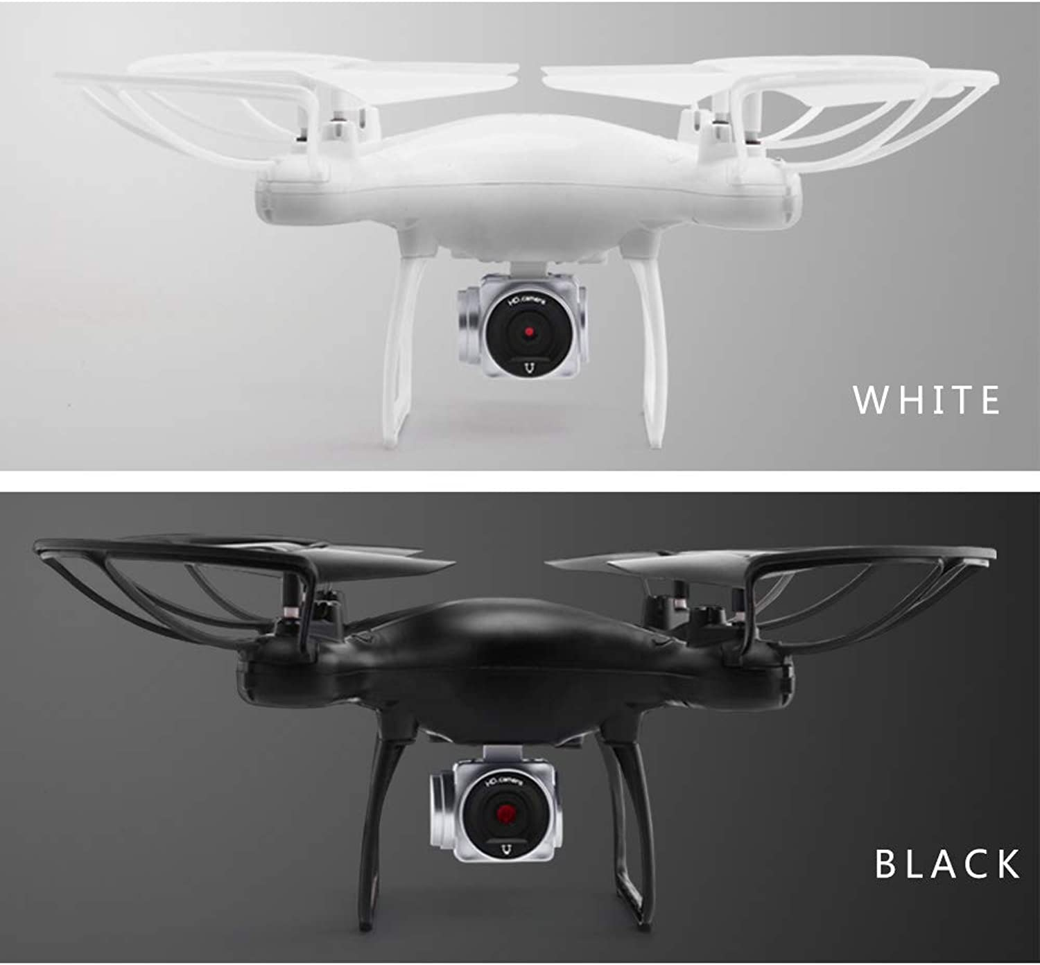 WiFi FPV 720P HD Camera, Best Drone for Beginners with Altitude Hold, Trajectory Flight, 3D Flips, Headless Mode, One Key Operation,white640P