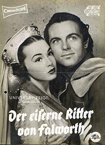 Der eiserne Ritter von Falworth - Das neue Film-Programm DNF gelocht