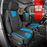 Motor Trend DuraLuxe Faux Blue Leather Seat...