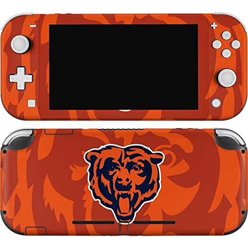 Skinit Decal Gaming Skin Compatible with Nintendo Switch Lite - Officially Licensed NFL Chicago Bears Double Vision Design