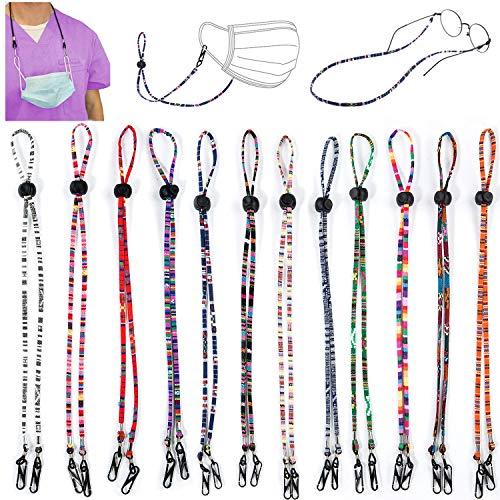 REDESS multifunktionales Brillenband, unisex, Maskenband, Anti-Verlust-Maskenband, geeignet für Männer, Frauen, Kinder, ältere Menschen - - Einheitsgröße