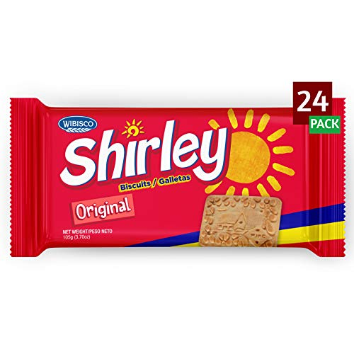 Shirley Biscuits 37 Ounce Pack of 24 Unique Creamy Taste Caribbean Classic Biscuits