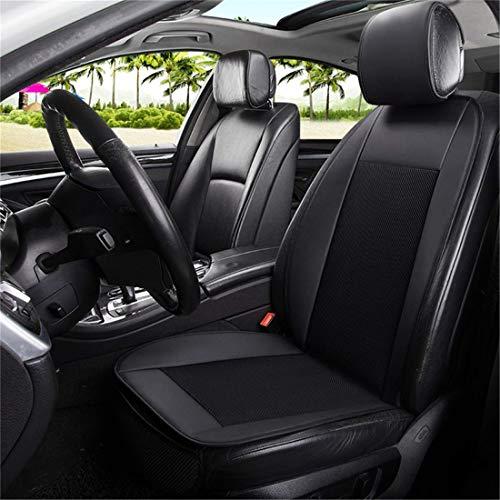 Auto-Sitzkissen mit dem Fan-Blowing Cool Summer Lüftungs Kissen Sitzkissen Kühl Fit Die meisten Auto-LKW Van SUV,Schwarz,DoubleDC12V