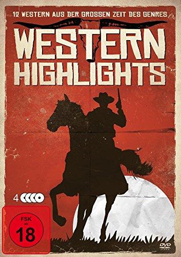 Western Highlights [4 DVDs] 12 Western-Klassiker auf 4 DVDs