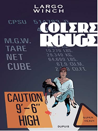 Largo Winch - tome 18 - Colère rouge grand format
