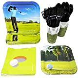 Golf Party Supplies Pack (113+ Pieces for 16 Guests!), Golf Party, Golf Tableware