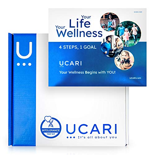 UCARI Intolerance & Food Sensitivity Test Kit for Adults & Kids | Non-Invasive Environmental, Skin, Gluten & Food Intolerance Test Kit | Bioresonance Home Health Testing Kits, Fast Results