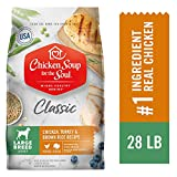 Chicken Soup for the Soul Large Breed Adult Dog Food - Chicken, Turkey & Brown Rice Recipe, 28 Pound