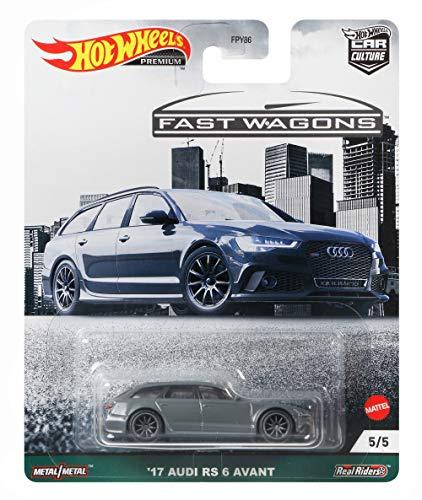 Hot Wheels Car Culture Fast Wagon - '17 Audi RS6 Avant GRJ65
