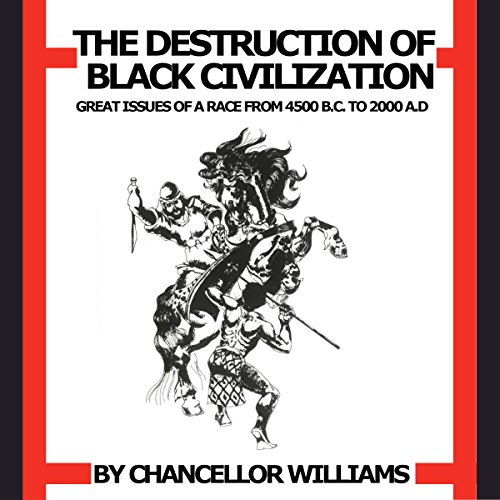 Destruction of Black Civilization audiobook cover art