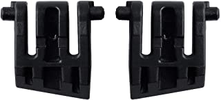 HUYUN Replacement Accessories Parts for Corsair K65 LUX RGB Mechanical Gaming Keyboard (1 Pair Stand Foot)