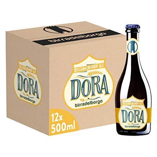 Birra del Borgo Dora, Bottiglia - Pacco da 12 x 500 ml
