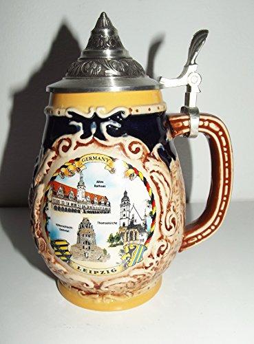 Bierkrug mit Leipzig-Motiven Nr. 25-507