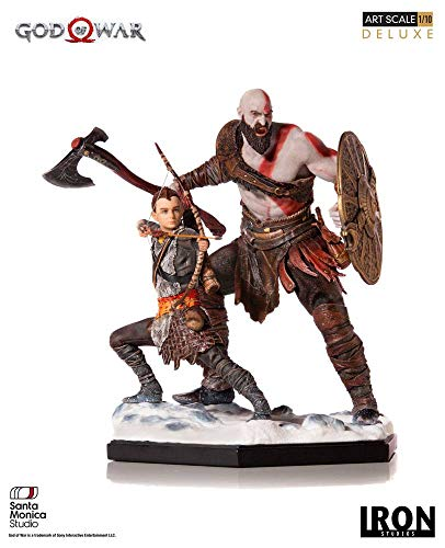 Iron Ore Health Kratos & ATREUS Deluxe Art Scale 1/10 - God of War
