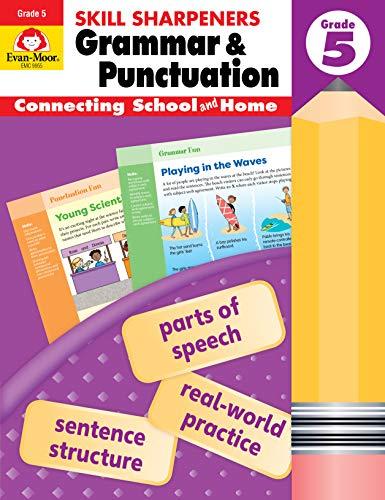 Compare Textbook Prices for Evan-Moor Skill Sharpeners Grammar and Punctuation Grade 5, Full-Color Activity Book - Supplemental Homeschool Workbook  ISBN 9781629388731 by Evan Moor