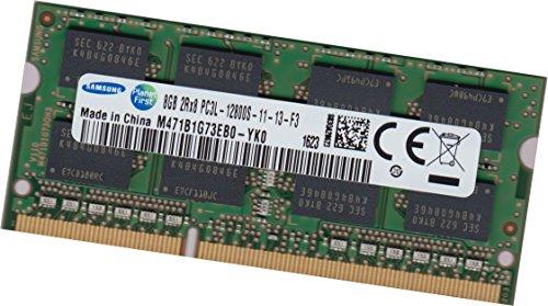 Samsung 8Gb DDR3L Ram Speicher 1600 MHz Notebook SoDimm 204pin M471B1G73EB0-YK0