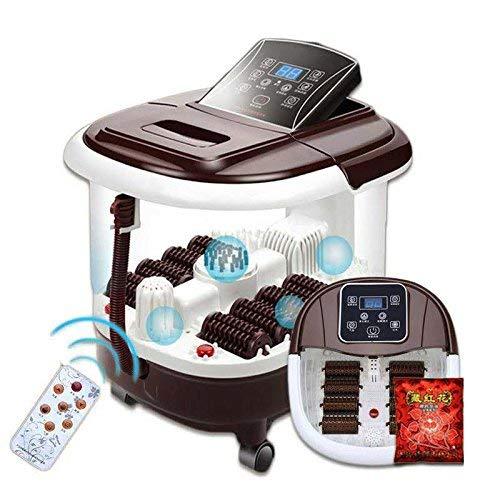 Y-Longhair Pediluvio Spa con riscaldatore dell acqua (8 rulli massaggio elettrico, il display può essere piegato, un aghiforme piastra massaggio, può massaggiare acqua)