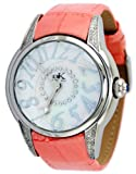 Adee Kaye #AK5565-L Women's Faceted Prism Crystal Diamond Accented Watch