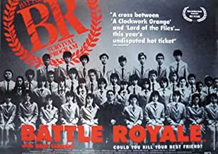 Battle Royale - Movie Poster (Size: 40'' x 27'')