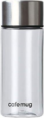 パール金属 水筒 プラスチック スリム ボトル 130 シルバー カフェマグ HB-5661