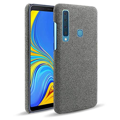 SHUNDA Capa para Samsung Galaxy A9 (2018), capa de proteção ultra fina de tecido de feltro antiimpressões digitais para Samsung Galaxy A9 (2018) - cinza escuro