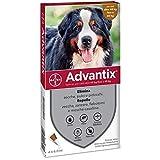 advantix Spot on Cani antiparassitario Cane 4 tubetti 6,0ml, Multicolore, Unica