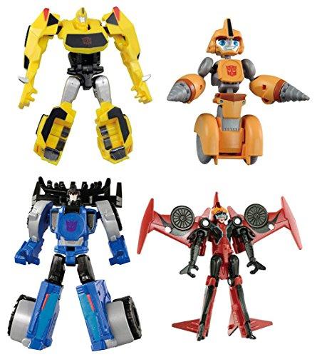 Transfomers TAV48 EZ Collection Team Bumblebee VS Thunderhoof SetTAKARATOMY