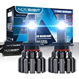 H7 LED Headlight Bulbs Conversion Kit - 80W/Pair Extremely Brigh Up to 12000