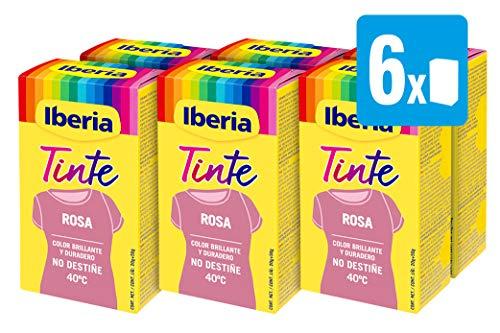 Iberia - Tinte Rosa para ropa