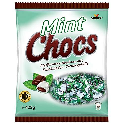Mint Chocs (1 x 425g) / Pfefferminz-Bonbons mit Schokoladenfüllung