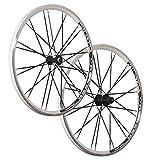 VUELTA 26 pollici set ruote bici Crosser x II Shimano HB FH-RM40 bianco 24 fori