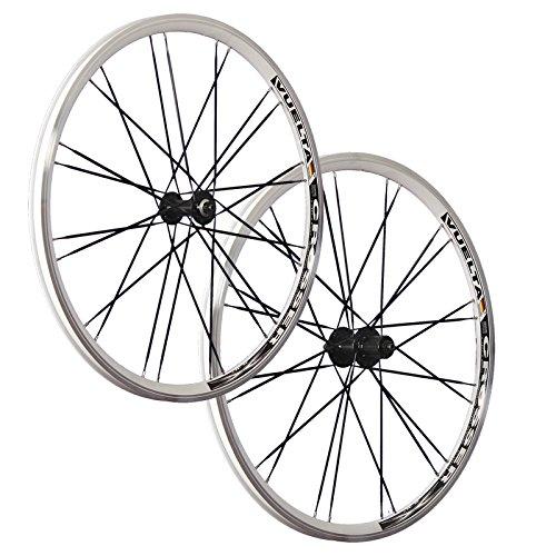 Vuelta 26 Zoll Laufradsatz (Vorderrad + Hinterrad) Crosser x II Shimano HB/FH-RM40 weiß schwarz 24