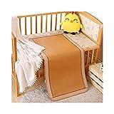Estera de bambú Rattan refrigeración de Verano Matería de Dormir Ratán, colchón de niños de bambú (sin farsa de...