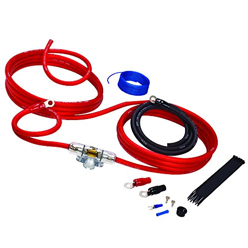 Stinger SK4641 4 Gauge 4000 Series Car Audio Amplifier Installation Kit
