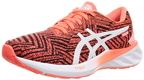 Asics Roadblast Tokyo, Road Running Shoe Mujer, Sunrise Red/White, 39.5 EU