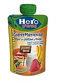 Hero Bolsita Mi Merienda Yogur con Plátano y Fresa para Bebés a partir de 12 meses 100 g