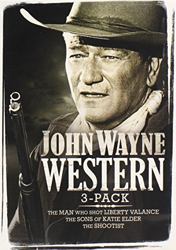 John Wayne Western Collection (The Man Who Shot Liberty Valance, The Sons of Katie Elder, The Shootist)