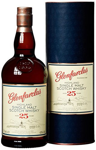 Glenfarclas 25 Years Old mit Geschenkverpackung  Whisky (1 x 0.7 l)