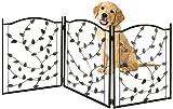 Bundaloo Freestanding Metal Folding Pet Gate