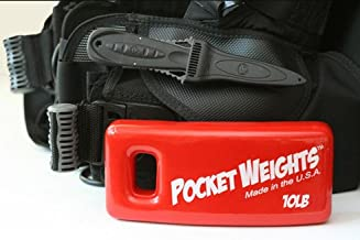 Pocket Weights BCD Scuba Weights (Singles)