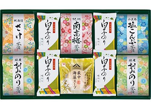 Shirakonori(白子のり) 茶漬 味之庵〜のど黒最中スープ付〜(2664-40)