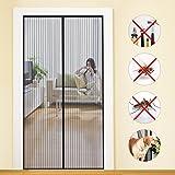 MYCARBON Mosquitera Puerta Magnetica Corredera Cortina Mosquitera Magnética para Puertas Cortina de Sala de Estar la Puerta del Balcón Puerta Corredera de Patio