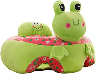 sofa Baby Learning Seat Cartoon Children s Baby Safety Dining Chair Animal Sweet Seats Infant Multi Seat Plush Toy for Children Room frog