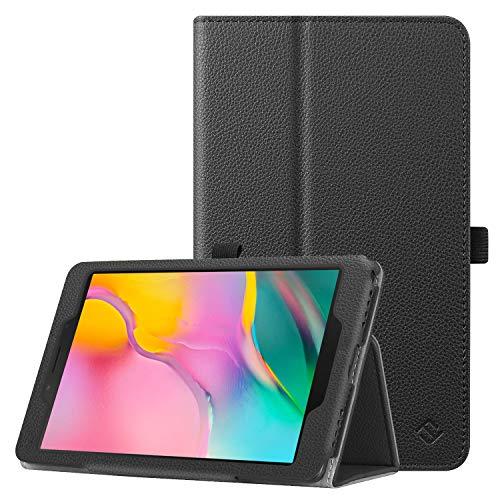 Fintie Hülle für Samsung Galaxy Tab A 8.0 2019 - Premium Kunstleder Folio Schutzhülle mit Standfunktion & Stylus-Halterung für Samsung Galaxy Tab A 8.0 Zoll 2019 SM-T290/T295 Tablet, Schwarz