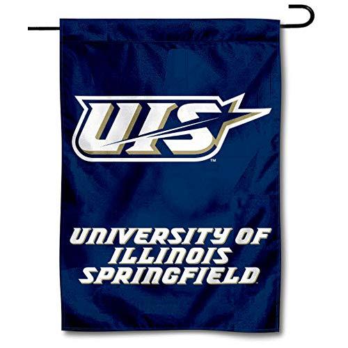 College Flags & Banners Co. Illinois Springfield Prairie Stars Garden Flag