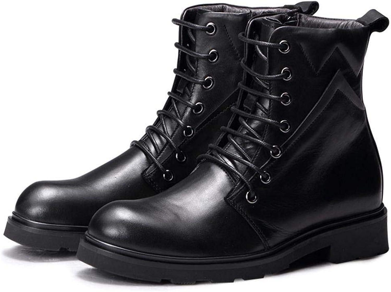 Hhguld High Winter Mans stora, tjocka, varma skor med spetsar spetsar spetsar (färg  38, Storlek  Svart)  det bästa urvalet av