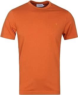 Deansgate Orange Garment Washed T-Shirt