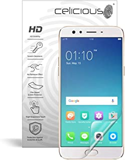 Celicious Vivid Invisible Glossy HD Screen Protector Film Compatible with OPPO F3 [Pack of 2]
