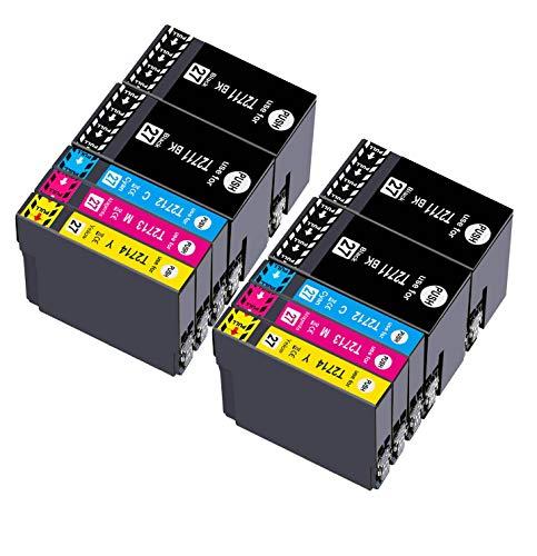 Teland 27XL Multipack Cartucce di inchiostro di ricambio per 27 XL per Epson Workforce WF-3620 WF-7620 WF-7610 WF-3640 WF-7110 WF-7210 WF-7710 WF-7715 WF-7720 WF-3620DWF WF-7710DWF WF-7715DWF
