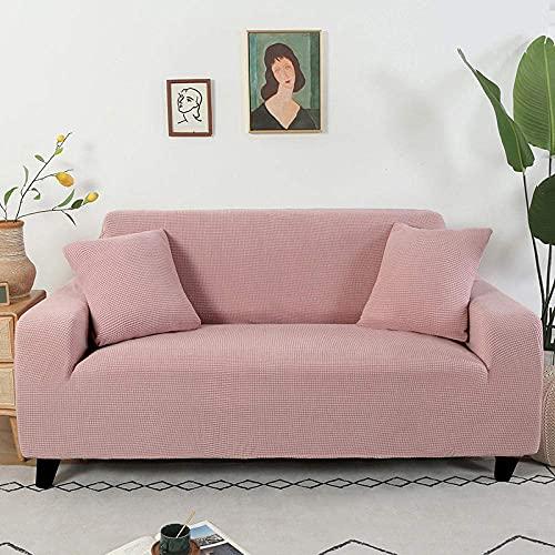 L.TSA Funda de sofá elástica de Tela elástica de Ajuste fácil, Tejido Grueso para Fundas de Sala de Estar, Protector de sillón en Forma de L, 3_90-140cm, Funda de sofá elástica de Tela elástica